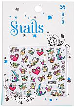 Profumi e cosmetici Adesivi per la progettazione delle unghie - Snails 3D Nail Stickers