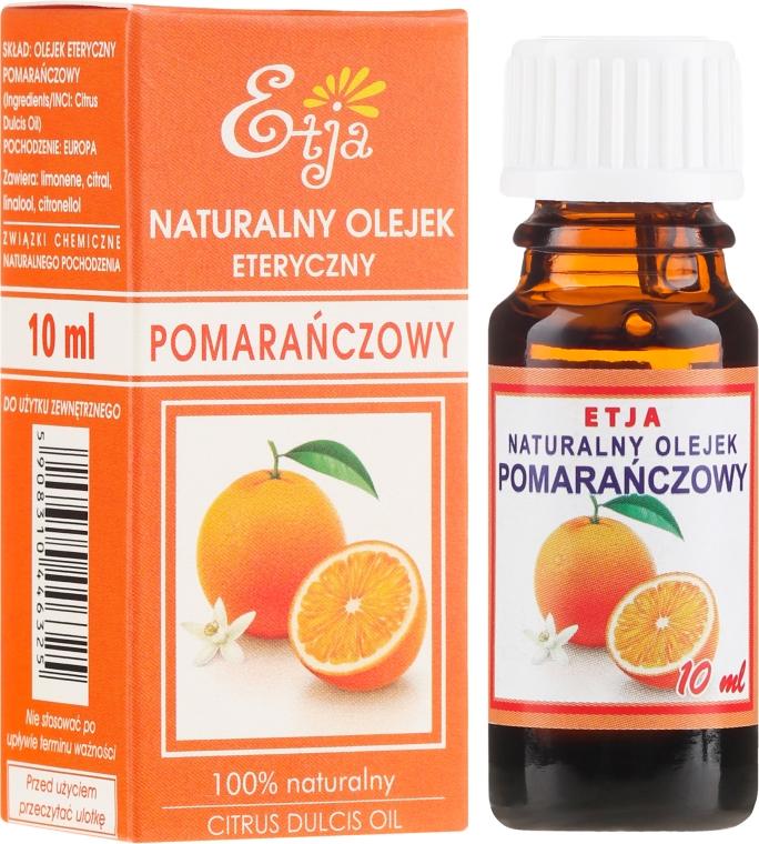 Olio essenziale di arancia naturale - Etja Natural Citrus Dulcis Oil
