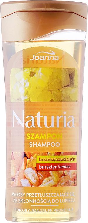 Shampoo capelli al bio-olio e ambra - Joanna Naturia Shampoo Biosandar And Amber