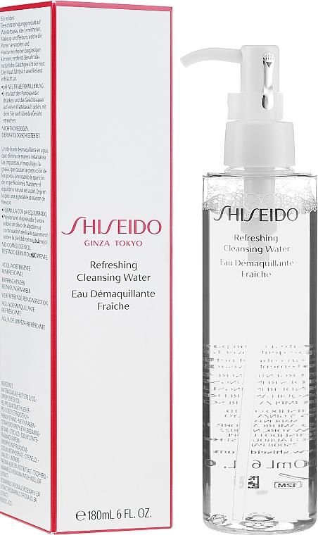 Acqua detergente rinfrescante - Shiseido Refreshing Cleansing Water — foto N1