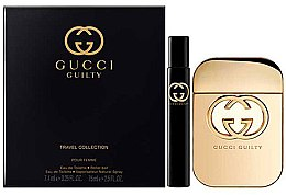 Profumi e cosmetici Gucci Guilty - Set (edt/75ml + edt/7.4ml)