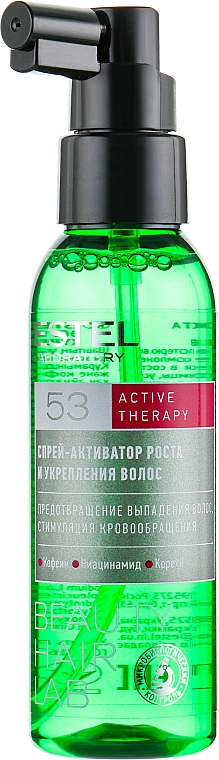 Spray rinforzante per crescita capelli - Estel Beauty Hair Lab 53 Active Therapy