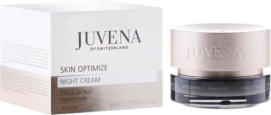 Crema viso - Juvena Skin Optimize Night Cream Sensitive Skin — foto N1