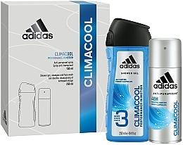 Profumi e cosmetici Set - Adidas Climacool Men (deo/150ml +sh/gel/250ml)