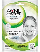 Profumi e cosmetici Maschera in tessuto purificante antiossidante - Fito Cosmetic Acne Control Professional
