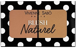 Profumi e cosmetici Blush - Vivienne Sabo Naturel Blush Duo