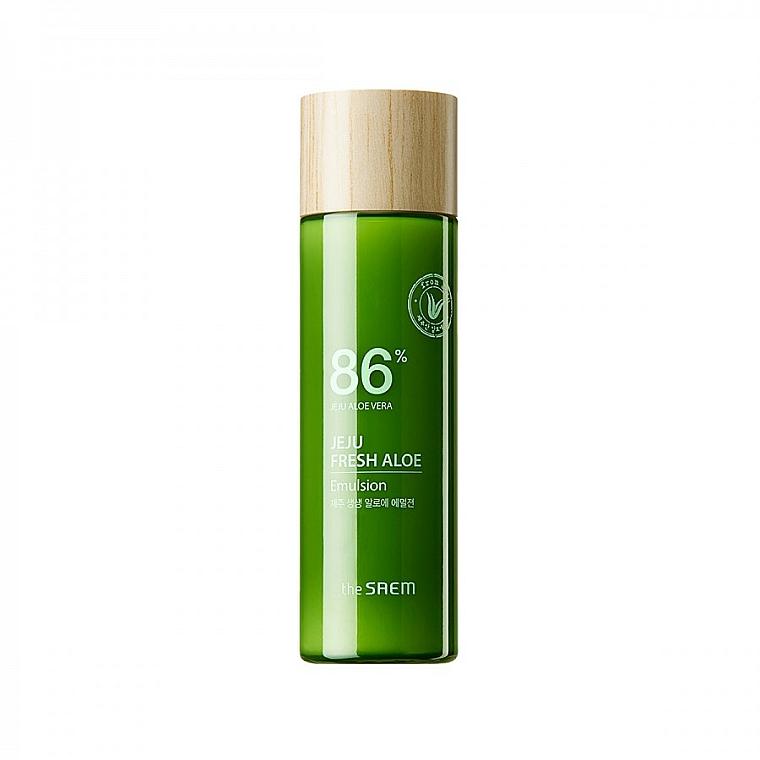 Emulsione viso idratante all'aloe vera - The Saem Jeju Fresh Aloe Emulsion