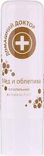 Profumi e cosmetici Balsamo labbra miele e olivello spinoso - Domashnyi Doctor