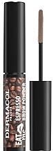 Profumi e cosmetici Ombretto per sopracciglia - Dermacol Eat Me Espresso Eyebrow Powder