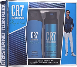 Profumi e cosmetici Cristiano Ronaldo CR7 Play It Cool - Set (sh/gel/200ml + deo/spray/150ml)