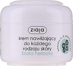"""Profumi e cosmetici Crema viso bio idratante per pelli grassi e miste """"Tè bianco"""" - Ziaja Cream White Tea"""