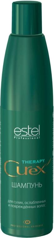 Shampoo per capelli secchi, deboli e danneggiati - Estel Professional Curex Therapy Shampoo