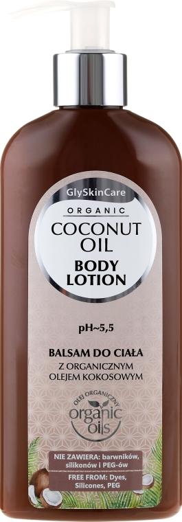 Lozione corpo, con cocco organico - GlySkinCare Coconut Oil Body Lotion