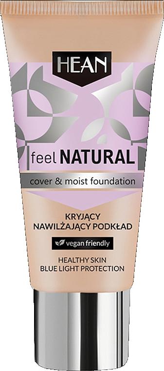 Fondotinta idratante - Hean Feel Natural Cover & Moist Foundation