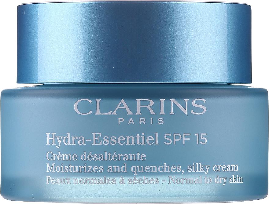 Crema idratante per la pelle normale e secca - Clarins Hydra-Essentiel Silky Cream SPF 15 Normal to Dry Skin — foto N3