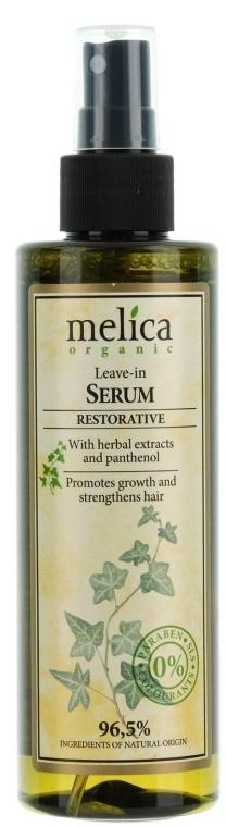 Siero rassodante per capelli - Melica Organic Leave-in Restorative Serum