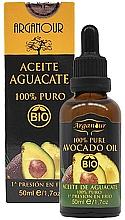 Profumi e cosmetici Olio di avocado per viso, corpo e capelli - Arganour Pure Organic Avocado Oil