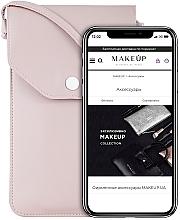 """Profumi e cosmetici Custodia per telefono con tracolla, color cipria """"Cross"""" - Makeup Phone Case Crossbody Powder"""