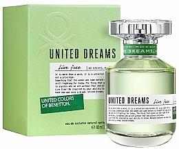Profumi e cosmetici Benetton United Dreams Live Free - Eau de toilette