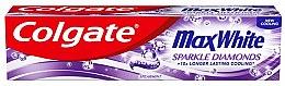 Profumi e cosmetici Dentifricio - Colgate Max White Sparkle Diamonds