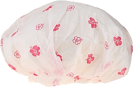 Profumi e cosmetici Cuffia per la doccia, 9298, fiori bianchi e rosa - Donegal Shower Cap