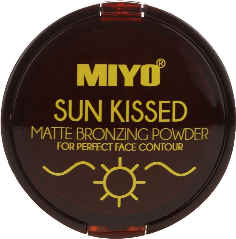 Cipria abbronzante - Miyo Sun Kissed Matt Bronzing Powder