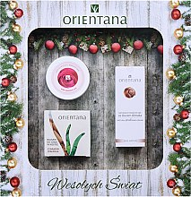 Profumi e cosmetici Set - Orientana (balm/60g+oil/100g+cr/50ml)