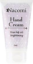 Crema mani all'olio di rosa canina - Nacomi Hand Cream With Cold-Pressed Rose Hip Oil — foto N1
