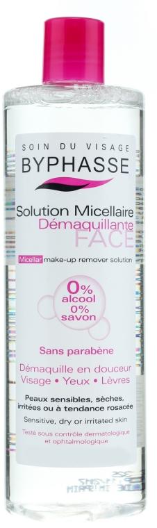 Acqua micellare per pulire il viso - Byphasse Micellar Make-Up Remover Solution Sensitive, Dry And Irritated Skin — foto N1