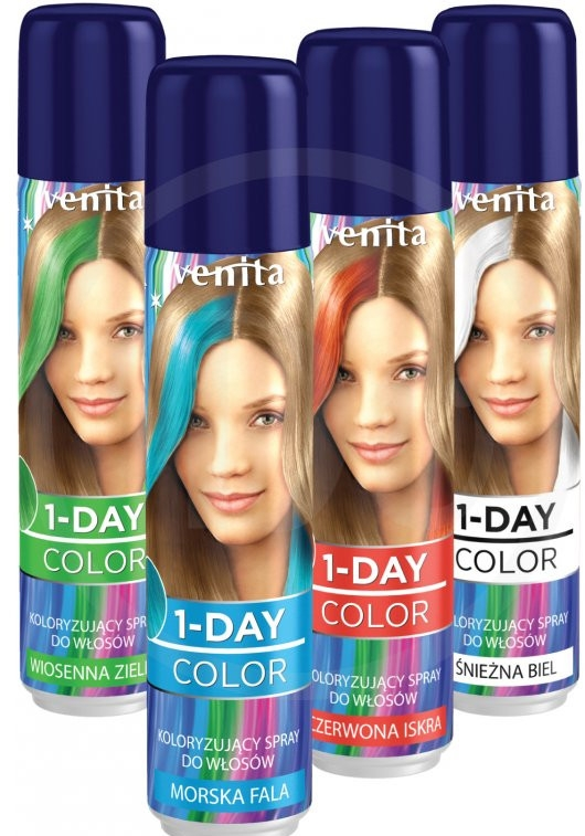 Spray colorante per capelli - Venita 1-Day Color Spray