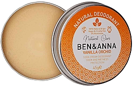 Profumi e cosmetici Deodorante cremoso naturale - Ben & Anna Vanilla Orchid Soda Cream Deodorant