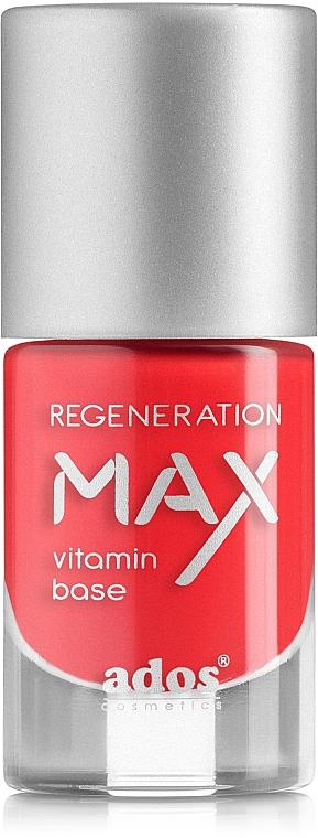 Indurente ripristinante per unghie - Ados Max Regeneration Vitamin Base