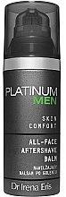 Profumi e cosmetici Balsamo dopobarba idratante - Dr Irena Eris Platinum Men Skin Comfort Aftershave Balm