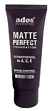 Profumi e cosmetici Fondotinta opacizzante - Ados Matte Perfect Foundation