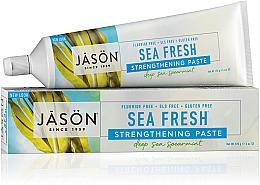 Profumi e cosmetici Dentifricio alle alghe marine - Jason Natural Cosmetics Toothpaste Deep Sea Spearmint
