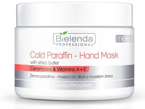 Maschera mani con burro di karité e paraffina fredda - Bielenda Professional Cold Paraffin Hand Mask With Shea Butter (400 g)