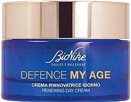 Profumi e cosmetici Crema viso rigenerante, da giorno - BioNike Defence My Age Renewing Day Cream