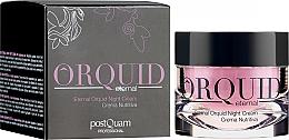 Profumi e cosmetici Crema notte idratante - PostQuam Orquid Eternal Moisturizing Night Cream