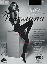 """Profumi e cosmetici Collant donna """"Strong press"""", 40 Den, nero - Veneziana"""
