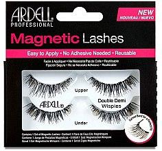 Profumi e cosmetici Ciglia finte - Ardell Magnetic Strip Lash Double Demi Wispies
