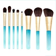 Profumi e cosmetici Set pennelli per trucco, 8 pezzi - Nabla Aquamarine Essential Brush Set