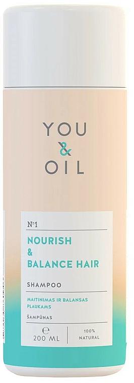 "Shampoo per capelli ""Nutrizione ed equilibrio"" - You&Oil Nourish & Balance Hair Shampoo — foto N1"