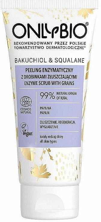 Peeling viso meccanico - Only Bio Bakuchiol & Skwalan Peeling