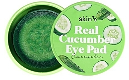 """Profumi e cosmetici Patch per occhi e viso """"Cetriolo"""" - Skin79 Real Cucumber Eye Pad"""