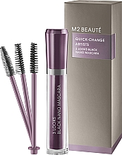 Profumi e cosmetici Mascara - M2Beaute Quick-Change Artists 3 Look Black Nano Mascara