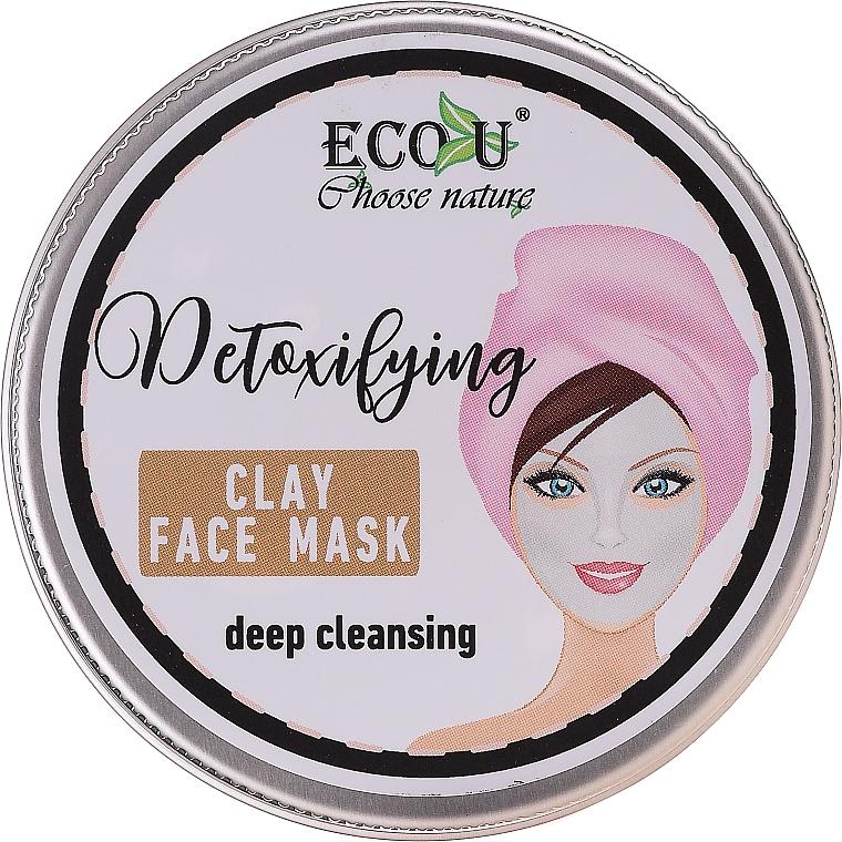 "Maschera viso ""Pulizia profonda"" - Eco U Detoxifying Deep Cleansing Clay Face Mask"
