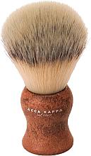 Profumi e cosmetici Pennello da barba - Acca Kappa Shaving Brush Natural Style Marrone