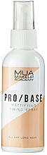 Profumi e cosmetici Spray fissante opacizzante - MUA Pro Base Mattifying Fixing Spray