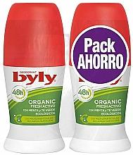 Profumi e cosmetici Set - Byly Organic Extra Fresh (deo/2x50ml)
