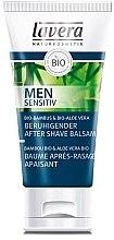 Profumi e cosmetici Balsamo dopobarba lenitivo per uomo - Lavera Men Sensitiv Beruhigender After Shave Balsam